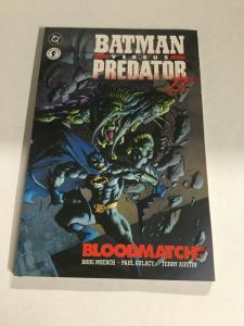 Batman Versus Predator II Nm Near Mint DC Dark Horse Comics SC TPB