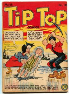 Tip Top Comics #83 1943-Captain and the Kids- missing centerfold