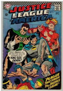 JUSTICE LEAGUE OF AMERICA 44 G May 1966