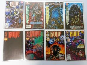 Rune Lot 22 Different, NM - VENOM appearance