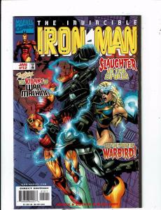 Lot of 6 The Invincible Iron Man Marvel Comic Books #12 13 14 15 16 17 AH6