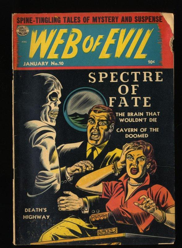 Web Of Evil #10 GD+ 2.5