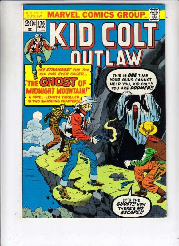 Kid Colt Outlaw #176 (Nov-73) VF+ High-Grade Kid Colt