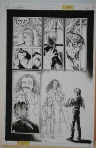 MICHAEL ZULLI original art, SEEKERS into the MYSTERY #9, pg 18, 11x17, Who Am I