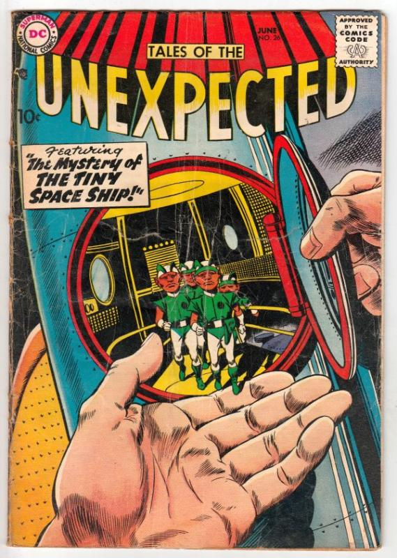 Tales of the Unexpected #26 (Jun-58) VG Affordable-Grade