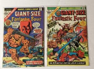 Fantastic Four Giant-size 2 3 Very Fine Vf 8.0