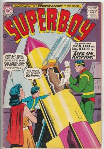 Superboy #79 (Mar-60) VG/FN Mid-Grade Superboy