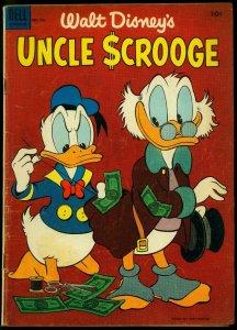Walt Disney's Uncle Scrooge #4 1954- Dell Comics Carl Barks FN