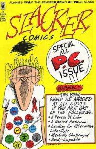 SLACKER #2, NM, Grunge, Doug Slack, 1994, Underground, HTF, more indies in store