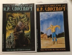 Worlds Of H.P. Love Craft Lot VF- Very Fine-