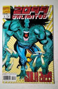 2099 Unlimited #3 (1994) Marvel Comic Book J757