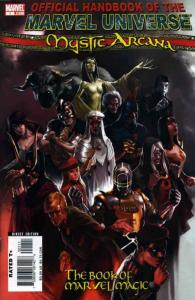 Mystic Arcana: The Book of Marvel Magic #1 VF/NM; Marvel | save on shipping - de