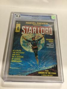 Marvel Preview 4 CGC 9.2 OW/W Pages  1st Appearance Of Star-Lord