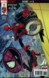 Spider-Man/Deadpool #26 VF/NM; Marvel | save on shipping - details inside