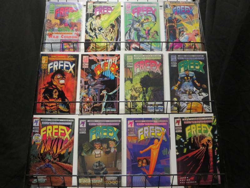 FREEX 1-18,GS 1 COMPLETE ULTRAVERSE's TEEN SUPERHEROES!