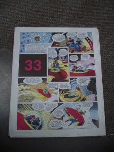 BUCK ROGERS #33-ITALIAN SUNDAY STRIP REPRINTS-CALKINS FN