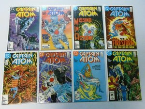 Captain Atom lot from:#2-51 + Annual:#1+2 47 different 8.0 VF (1987-91)