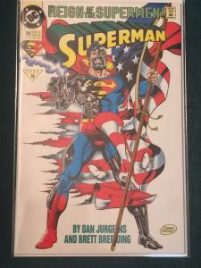 Superman #79 Reign of the Supermen