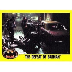 1989 Batman The Movie Series 2 Topps THE DEFEAT OF BATMAN #173