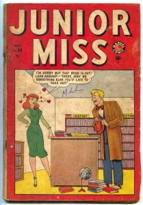 Junior Miss #34 1949- CINDY- Marvel Comics incomplete