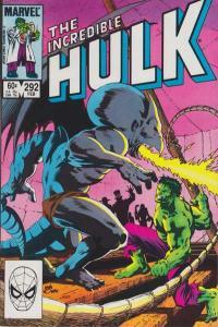 Incredible Hulk (1968 series) #292, VF- (Stock photo)