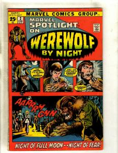 Marvel Spotlight # 2 FN/VF Comic Book Feat. Werewolf By Night Mike Ploog Art RS1