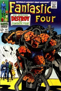 Fantastic Four #68 (ungraded) stock photo / SCM