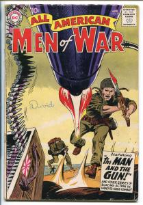 ALL-AMERICAN MEN OF WAR #68-1959-WWII-DC-SILVER AGE-GUNNER-SARGE-JOE KKUBERT-vg