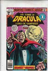 Tomb of Dracula #55 (Apr-77) VF Affordable-Grade Dracula