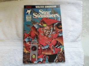 1994 malibu comics STAR SLAMMERS # 1