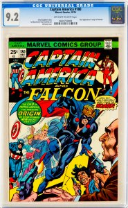 Captain America 180 (Marvel, 1974) CGC 9.2 KEY 1st Nomad