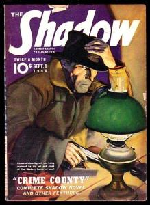 THE SHADOW-SEP 1 1940-CRIME COUNTRY VG