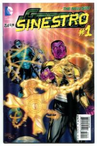 Green Lantern-#23.4-Sinestro-#1-3-D Variant-New 52-2nd Print-NM