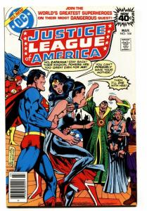 JUSTICE LEAGUE OF AMERICA #164  comic book 1978-ZATANNA-DC