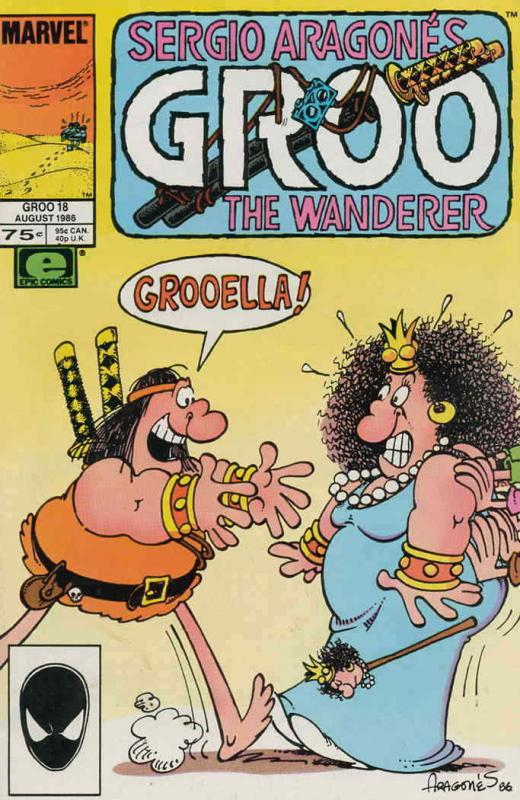 Groo the Wanderer #18 VF/NM; Epic | save on shipping - details inside