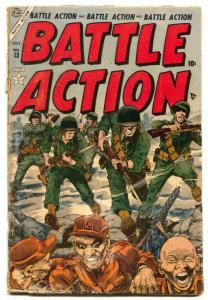 Battle Action #13 1954- Atlas Korean War comic G-