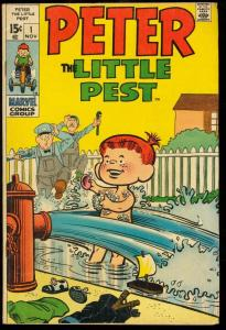 PETER THE LITTLE PEST #1-MARVEL FIRST ISSUE VG