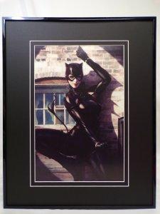 Catwoman #1 Framed 16x20 Poster Display DC Comics Artgerm GGA