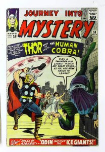 Journey into Mystery (1952 series) #98, Fine- (Actual scan)