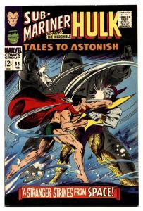 TALES TO ASTONISH #88 comic book 1967-HULK- SUB-MARINER High Grade VF+