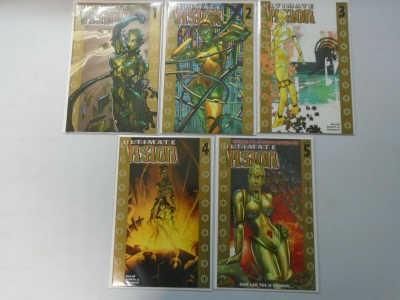 Ultimate Vision  set #1-5 Flip Books 8.0 VF (2006)