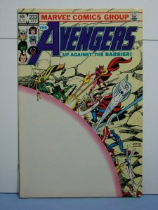 The Avengers #233 (Marvel Comics, July 1983) SIGNED John Byrne OLD-SCHOOL-STYLE