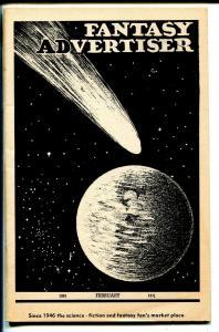 Fantasy Advertiser 2/1951-pulp & sci-fi info-VF