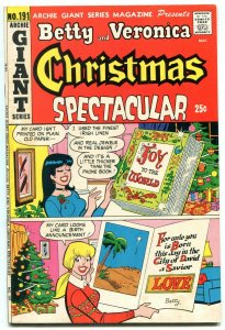 Betty and Veronica Christmas Spectacular- Archie Giant Series #191 1972