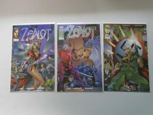 Zealot set #1-3 8.0 VF (1995)