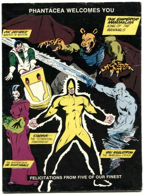 Phantacea #1 1977- early DAVE SIM- sci-fi comic VG