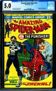 Amazing Spider-Man #129 CGC 5.0 1st Punisher