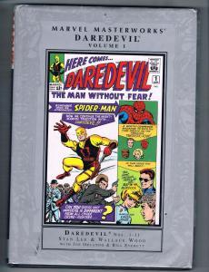 Daredevil Marvel Masterworks Vol. # 1 1-11 HARDCOVER TPB Graphic Novel 1st J124