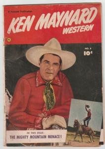 Ken Maynard Western #8 (Mar-52) VG/FN- Affordable-Grade Ken Maynard
