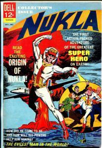 Nukla #1-1965-Dell-origin-1st issue-atomic explosion-VF